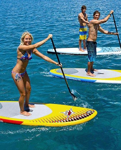 Stand Up Paddle Boarding (SUP) - Did you ever ask is there paddle board near me 1 - Maji Magic - Aqua Park - Nairobi Kenya - Top Things To Do Nairobi