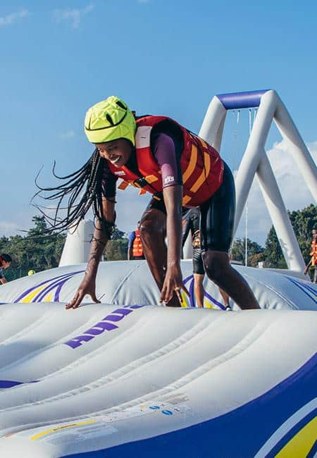 Stand Up Paddle Boarding (SUP) - Did you ever ask is there paddle board near me 4 - Maji Magic - Aqua Park - Nairobi Kenya - Top Things To Do Nairobi