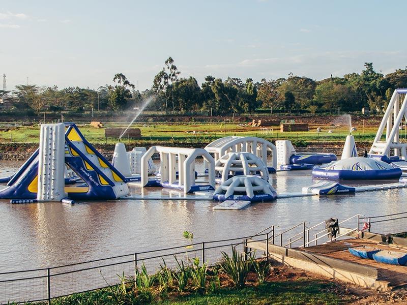 Cable Park 6 - Maji Magic Aqua Park Nairobi Kenya