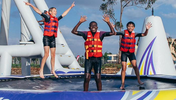 Stand Up Paddle Boarding (SUP) - Did you ever ask is there paddle board near me 11 - Maji Magic - Aqua Park - Nairobi Kenya - Top Things To Do Nairobi
