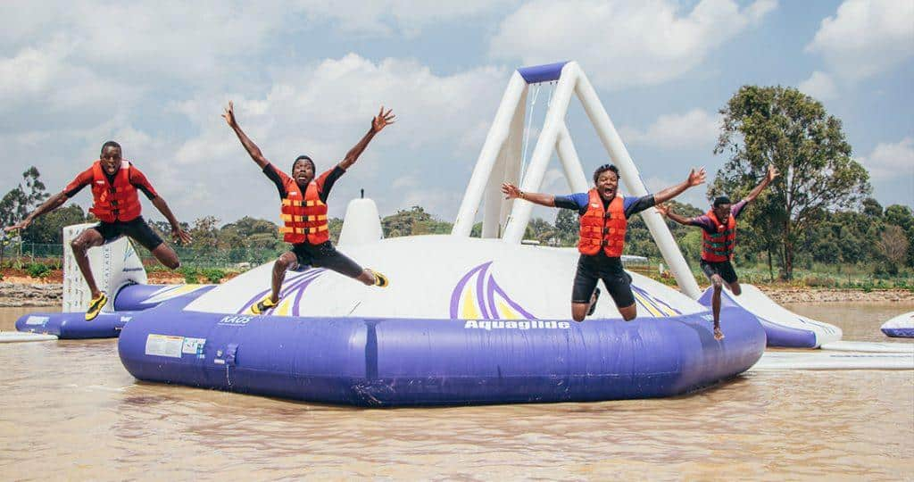Maji Magic Aqua Park SUP sessions - Top 5 Health Benefits of Paddle Boarding 2 - Maji Magic Aqua Park Nairobi Kenya