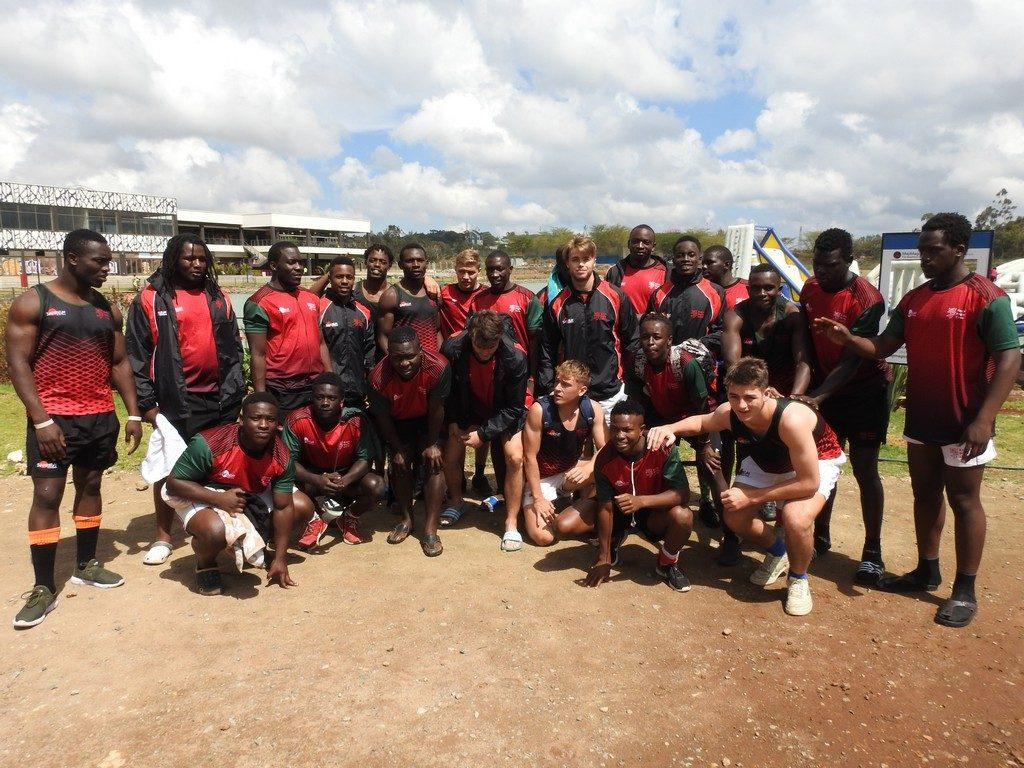 Maji Magic Hosts Kenya Rugby Team 3 - Maji Magic Aqua Park Nairobi Kenya