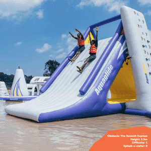 Top 7 obstacles to tackle at Maji Magic Aqua Park 3 - Maji Magic Aqua Park Nairobi Kenya