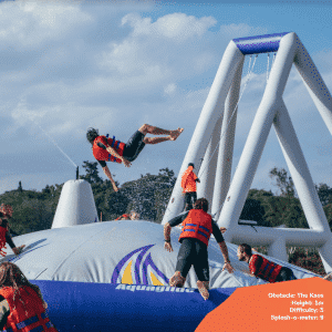 Top 7 obstacles to tackle at Maji Magic Aqua Park 2 - Maji Magic Aqua Park Nairobi Kenya