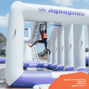 Top 7 obstacles to tackle at Maji Magic Aqua Park 4 - Maji Magic Aqua Park Nairobi Kenya