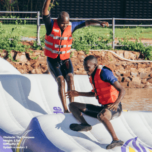 Top 7 obstacles to tackle at Maji Magic Aqua Park 7 - Maji Magic Aqua Park Nairobi Kenya