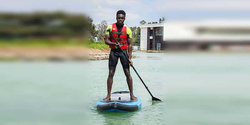 Stand Up Paddle Boarding (SUP) - Did you ever ask is there paddle board near me 8 - Maji Magic - Aqua Park - Nairobi Kenya - Top Things To Do Nairobi