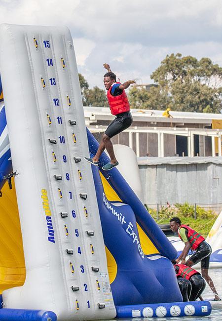Team Building 3 - Maji Magic Aqua Park Nairobi Kenya