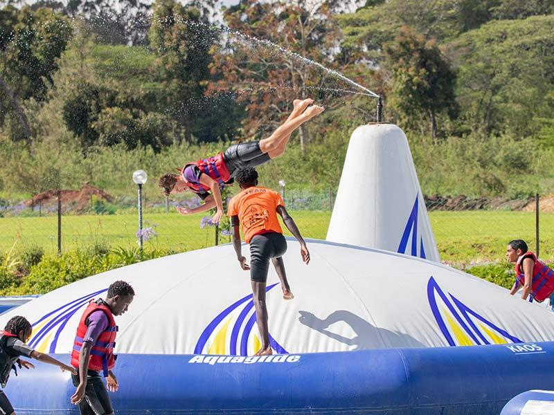 Stand Up Paddle Boarding (SUP) - Did you ever ask is there paddle board near me 6 - Maji Magic - Aqua Park - Nairobi Kenya - Top Things To Do Nairobi